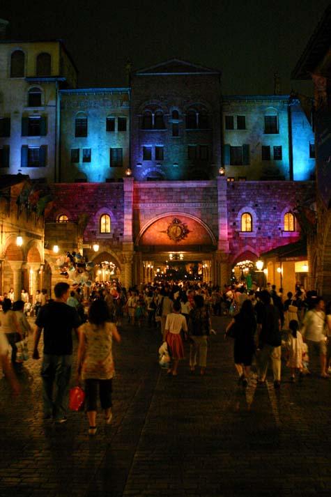 Entrance to Disney Sea